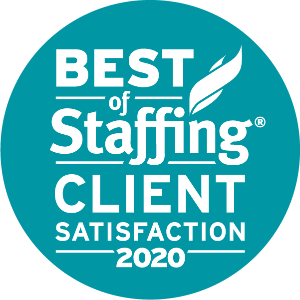 Best of Staffing - Client Satisfaction 2020