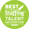 Best of Staffing - Talent Satisfaction 2020